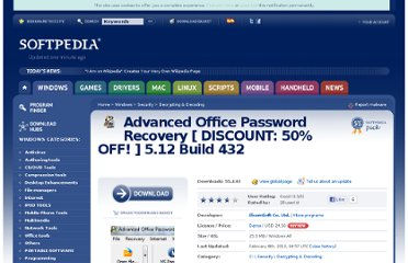 http://www.softpedia.com/get/Security/Decrypting-Decoding/Advanced-Office-Password-Recovery-pro.shtml