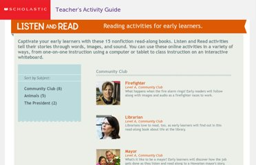 http://teacher.scholastic.com/commclub/index.htm