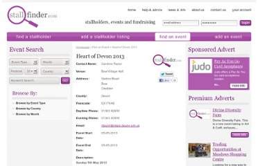http://www.stallfinder.com/event/heart-of-devon-2013/8097/