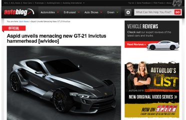http://www.autoblog.com/2012/07/16/aspid-unveils-menacing-new-gt-21-invictus-hammerhead-w-video/