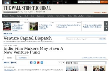 http://blogs.wsj.com/venturecapital/2010/08/11/indie-film-makers-may-have-a-new-venture-fund/