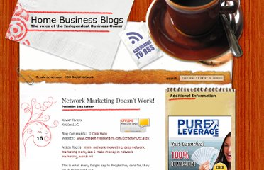 http://www.homebizblogs.com/2012/07/network-marketing-doesnt-work/