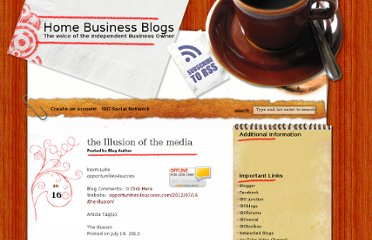 http://www.homebizblogs.com/2012/07/the-illusion-of-the-media/