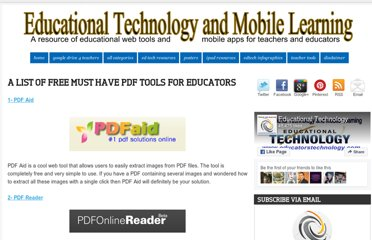 http://www.educatorstechnology.com/2012/07/list-of-free-must-have-pdf-tools-for.html