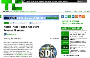 http://techcrunch.com/2009/05/14/about-those-iphone-app-store-numbers/