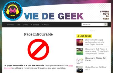 http://www.viedegeek.fr/post/viedegeek-2-ans?utm_source=feedburner&utm_medium=feed&utm_campaign=Feed%3A+VieDeGeek+%28Vie+de+Geek%29