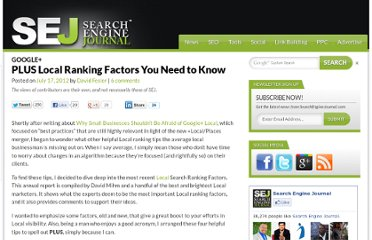 http://www.searchenginejournal.com/plus-local-ranking-factors-you-need-to-know/46167/