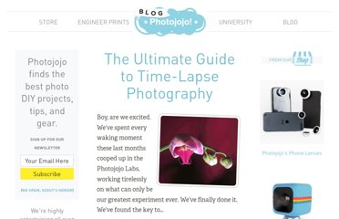 http://content.photojojo.com/tutorials/ultimate-guide-to-time-lapse-photography/