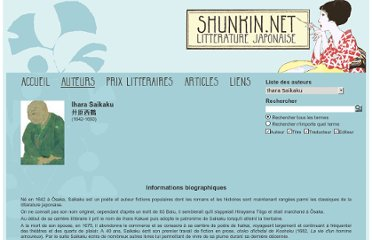 http://www.shunkin.net/Auteurs/?author=43