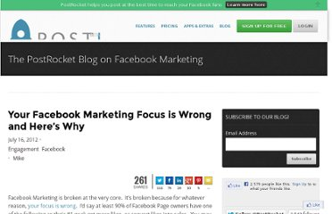 http://blog.getpostrocket.com/2012/07/your-facebook-marketing-focus-is-wrong-and-heres-why/