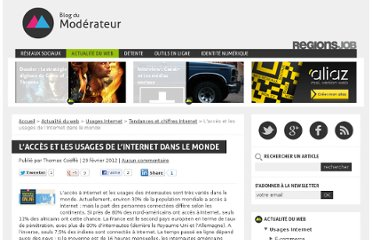 http://www.blogdumoderateur.com/acces-usages-internet-dans-le-monde/