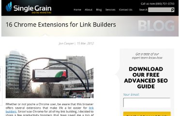 http://www.singlegrain.com/blog/16-chrome-extensions-for-link-builders/