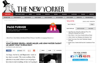 http://www.newyorker.com/online/blogs/books/2012/07/what-george-orwell-henry-miller-favorite-books.html