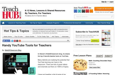 http://www.teachhub.com/youtube-teacher-tools