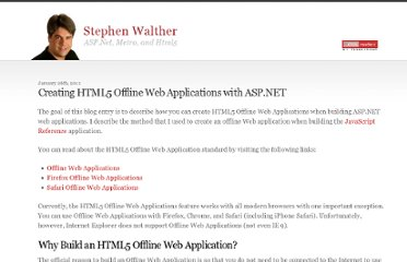 http://stephenwalther.com/archive/2011/01/26/creating-html5-offline-web-applications-with-asp-net.aspx