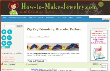 http://www.how-to-make-jewelry.com/zig-zag-friendship-bracelet-pattern.html