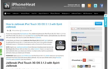 http://www.iphoneheat.com/2010/05/jailbreak-ipod-touch-os-3-1-3-with-spirit-jailbreak/