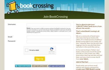 http://www.bookcrossing.com/join