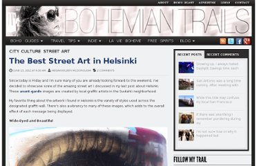 http://www.bohemiantrails.com/the-best-street-art-in-helsinki/#
