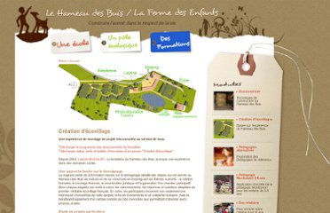 http://www.hameaudesbuis.com/eco_creation_ecovillages.html