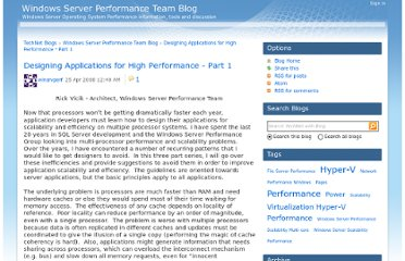 http://blogs.technet.com/b/winserverperformance/archive/2008/04/25/designing-applications-for-high-performance-part-1.aspx