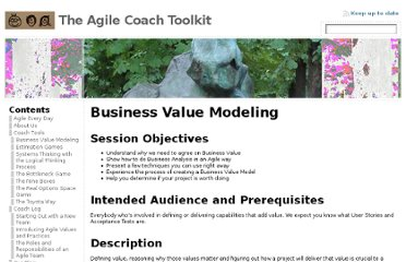 http://www.agilecoach.net/coach-tools/business-value-modeling/