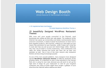 http://www.webdesignbooth.com/wordpress-restaurant-themes/