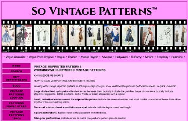 http://www.sovintagepatterns.com/using_unprinted_patterns.html