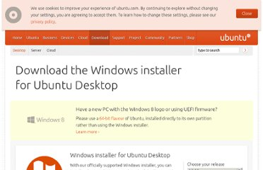 http://www.ubuntu.com/download/desktop/windows-installer