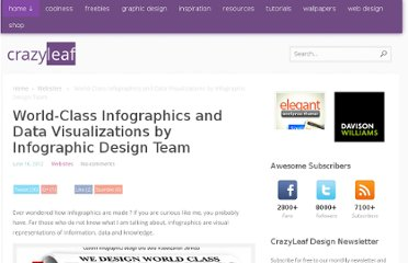 http://www.crazyleafdesign.com/blog/world-class-infographics-data-visualizations-infographic-design-team/
