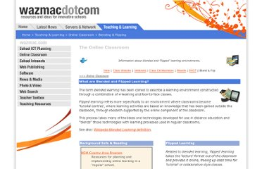 http://www.wazmac.com/teaching_learning/blendedlearning/index.htm