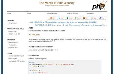 http://www.php-security.org/2010/05/17/mops-submission-06-variable-initialization-in-php/index.html