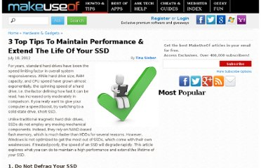 http://www.makeuseof.com/tag/3-top-tips-maintain-performance-extend-life-ssd-si/