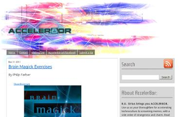 http://www.acceler8or.com/2011/12/brain-magick-exercises/