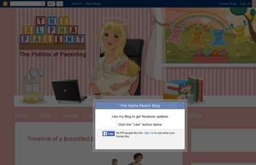 http://www.thealphaparent.com/2011/12/timeline-of-breastfed-baby.html