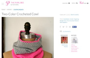 http://www.purlbee.com/two-color-cowl/