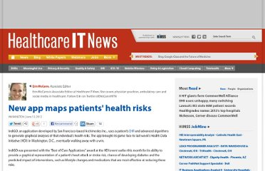 http://www.healthcareitnews.com/news/app-graphs-out-patients-health-risk-wins-award