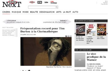 http://next.liberation.fr/cinema/2012/07/19/frequentation-record-pour-tim-burton-de-la-cinematheque_834319