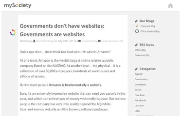 http://www.mysociety.org/2012/07/18/governments-dont-have-websites-governments-are-websites/