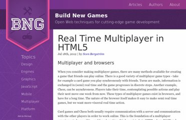 http://buildnewgames.com/real-time-multiplayer