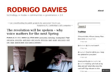 http://rodrigodavies.wordpress.com/2012/07/19/why-voice-could-start-another-spring/