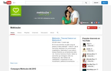 http://www.youtube.com/user/mektoube