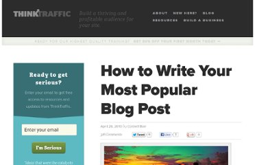 http://thinktraffic.net/how-to-write-your-most-popular-blog-post