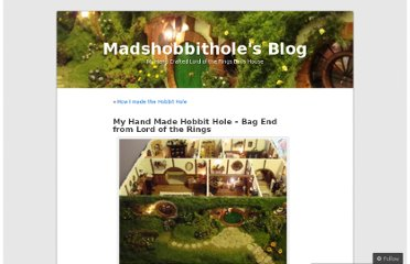 http://madshobbithole.wordpress.com/2010/01/18/my-hand-made-hobbit-hole-bag-end-from-lord-of-the-rings/