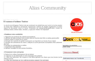 http://alias-community.over-blog.com/article-80-facons-d-utiliser-twitter-50427773.html