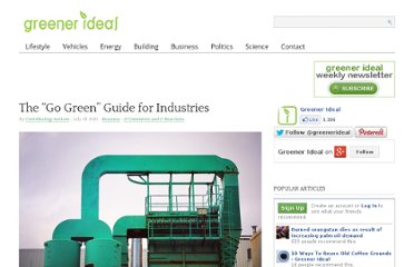 http://www.greenerideal.com/business/0719-go-green-guide-industries/