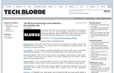 http://tech.blorge.com/Structure:%20/2008/11/15/top-40-technology-news-sites-the-definitive-guide/