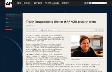 http://www.ap.org/Content/Press-Release/2012/Trevor-Tompson-named-director-of-the-Associated-Press-NORC