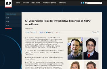 http://www.ap.org/Content/Press-Release/2012/AP-wins-Pulitzer-Prize-for-Investigative-Reporting-on-NYPD-surveillance