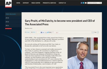 http://www.ap.org/Content/Press-Release/2012/Gary-Pruitt-of-McClatchy-to-become-new-president-and-CEO-of-The-Associated-Press